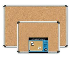 Board Dudes Aluminum Framed Cork Boards 18x24