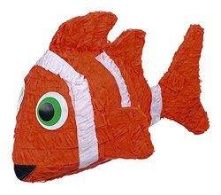 Shindigz Tissue Paper Clown Fish Birthday Pinata