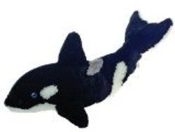 """27"""" Large Orca Killer Whale Plush Stuffed Animal Toy by Fiesta Toys"""