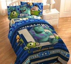 Disney Monsters University Twin Microfiber Comforter