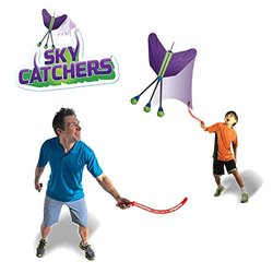 Sky Catchers Launch & Catch High-Flying Game - Up to 100 Feet!