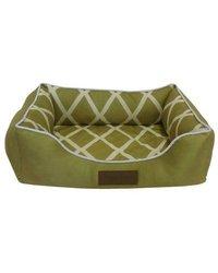 """Comfy Pooch Meggie Pet Bed Color: Green, Size: Small (20"""" L x 16"""" W)"""