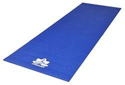 "Conquer 1/4"" Deluxe Yoga Mat Non-Slip High Density PVC, Vibrant Colors"