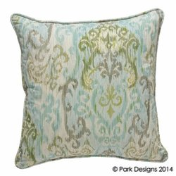 "Park Designs 124-54 20"" Spa Retreat Pillow- Geometric"