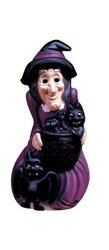 General Foam Plastic Lighted Witch
