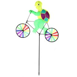Home-X Garden Wind Spinners - Bicycle Frog and Turtle (SH9357-358)