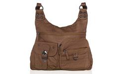 Afonie Women's Casual Messenger Handbag - Brown