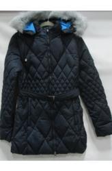 Women's Heavyweight Puffer or Parka Jacket - Navy - Size: XL