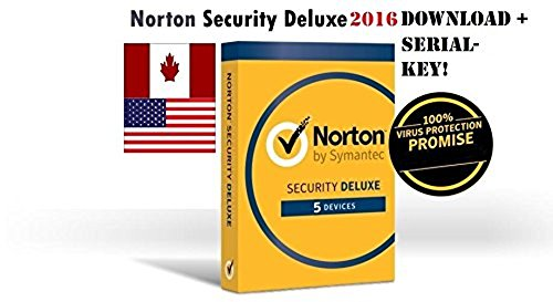 Norton Security Deluxe Download Code and Serial Key (21353874-DL