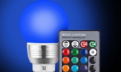 Massimo Retro LED Color Changing Light Bulbs - Pack of 4