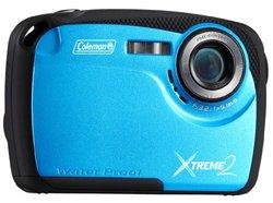 Coleman Xtreme II 16MP Waterproof Digital Camera - Blue (C12WP)