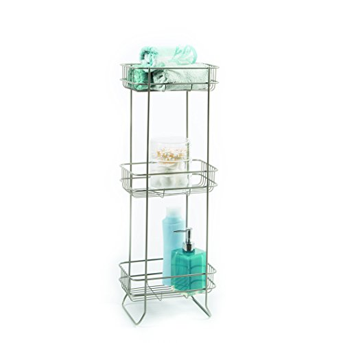 Homecrate bathroom accessories square stand open wire for Bathroom accessories stand
