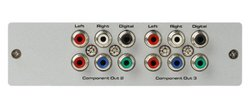 Gefen EXT-COMPAUD-143 1:3 Component Audio Distribution Amplifier
