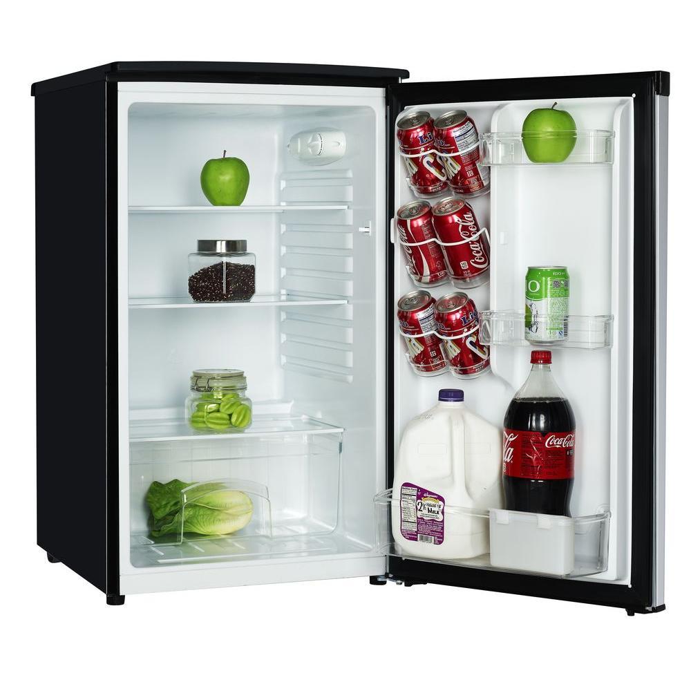 Magic Chef Hmar440st 44 Cu Ft Mini Refrigerator Stainless Steel