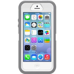 OtterBox Defender Series Case for iPhone 5/5S/SE - White/Gunmetal/Grey
