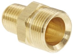 """EW 1390X6 CA360 Brass NULL 1/4"""" Pipe Size Adapter Fitting - Pack of 5"""