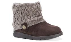 Muk Luks Women's Patti Boots - Medium Brown - Size: 9