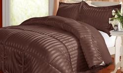 Kathy Ireland Reversible Comforter Set - Chocolate - Size: King