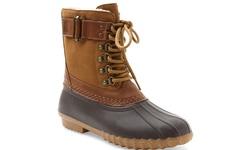 Esprit Cove Women's Duck Boot - Brown - Size: 9