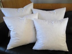 """Bed of Roses - Set of Two - 24"""" X 24"""" 95% Feather 5% Down Pillow Inserts - Made in USA"""