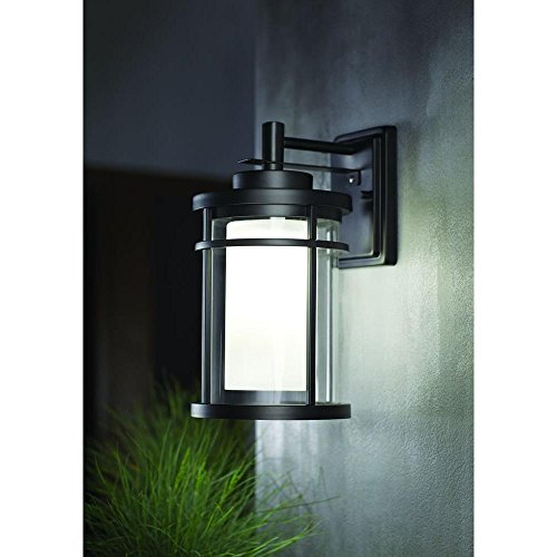 Home Decorators Collection Outdoor Led Wall Light Black Dw7178bk Check Back Soon Blinq