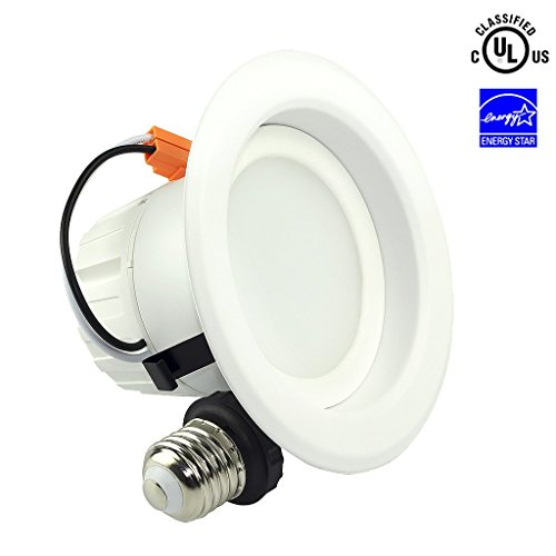 shine hai sgl 4 inch dimmable led recessed lighting energy star ul