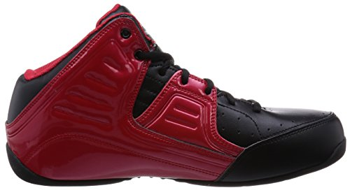 2a865ac26699b AND1 Men's Rocket 4.0 Mid Sneaker,F1 Red/Black/Silver,US 10 M ...