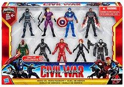 Marvel Captain America Civil War Hero vs Hero Faceoff Exclusive Set 1274063