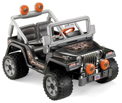Fisher Price Power Wheels Tough Talking Jeep Wrangler 12v Check Back Soon Blinq