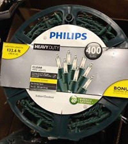 Philips Heavy Duty Mini String Lights- Clear - 400 CT - Check Back Soon - BLINQ