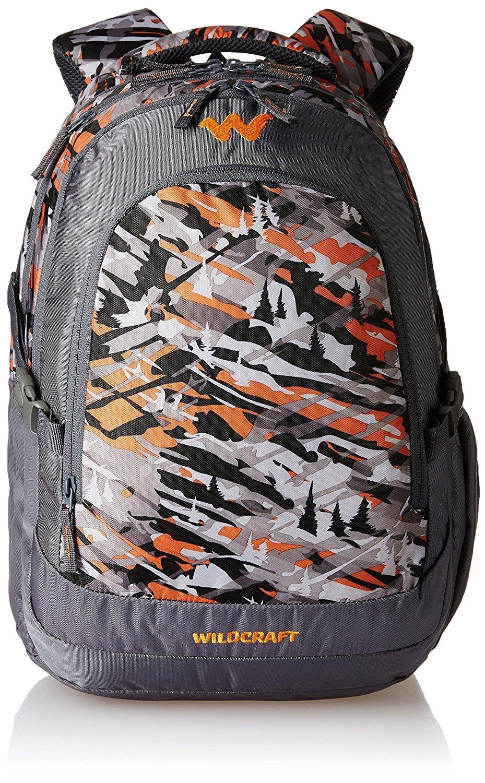 Extreme Terraine Backpack Orange Camouflage Check Back