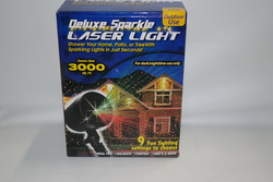 Deluxe Sparkle Outdoor Lase rLight - Multi Colored