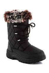 Snow Tec Girls' Snow Boots Blizz 3 - Black - Size: 8T