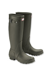 Hunter Women's Tour Rain Boot - Olive - Size: 6 (WFT1026RMA)