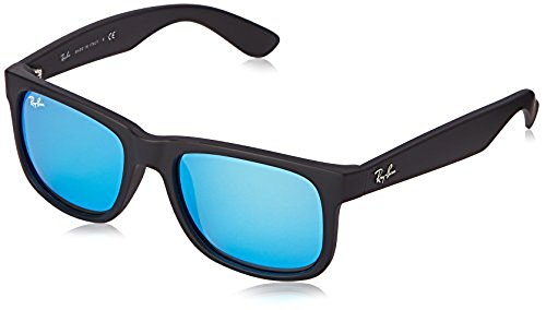 0d799f56f4 ... spain ray ban justin sunglasses black blue rb4165 622 55 0f630 f5e05