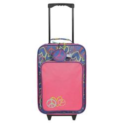 Circo Kids Pilot Case - Peace Print - Pink/Purple - Size 17""