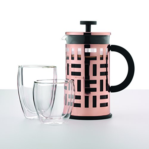 Bodum Eileen 8 Cup French Press Coffee Maker Copper