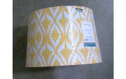 Threshold Mix and Match Lighting Lamp Shade - Yellow/White - Large