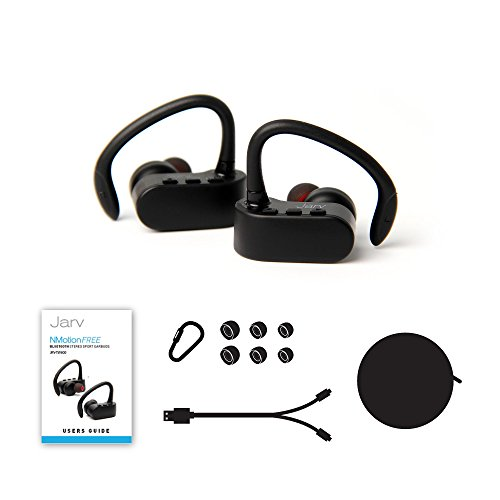 jarv nmotion free true wireless bluetooth sport stereo earbuds blinq. Black Bedroom Furniture Sets. Home Design Ideas