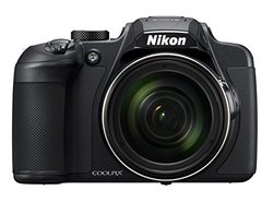 Nikon Coolpix 20.2 MP Camera with 4K UHD Video - Black 1295708