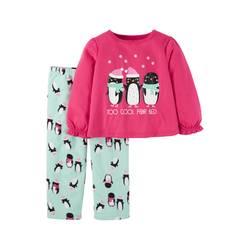 Just one You Kids Girls' Top & Pajama Set - Pink - Sz: 3T 1292869