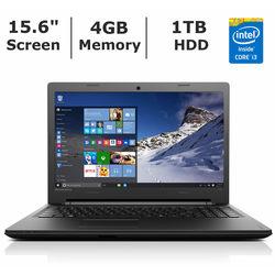 "Lenovo 15.6"" Laptop 2.2GHz 4GB 1TB Windows 10 (80QQ)"