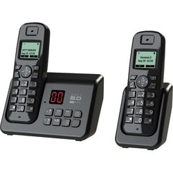 Southern Telecom DECT 6.0 2-Handset Cordless Phone (EM6120)