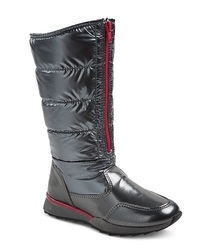 Women's Sliver Buffy Boots - Black - Size: 2