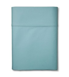Threshold Ultra Soft 300 Thread Count Fitted Sheet - Aqua - Size: King