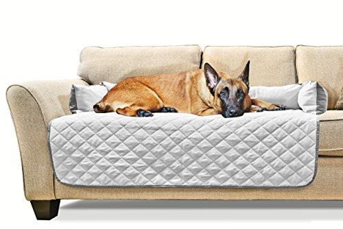 Fine Furhaven Sofa Buddy Pet Bed Furniture Cover Gray Mist Machost Co Dining Chair Design Ideas Machostcouk