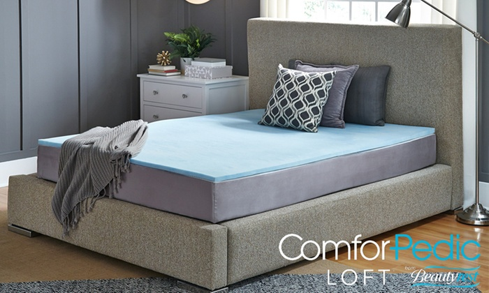 comforpedic loft 1 memory foam mattress topper reviews ComforPedic Loft 1