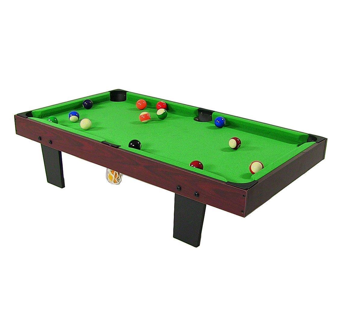 Sunnydaze Mini Tabletop Pool Table Green Size Check Back - Mini pool table size