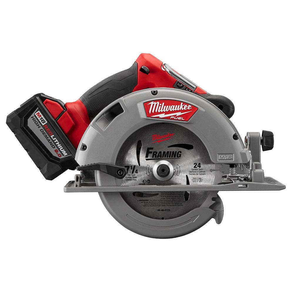 Milwaukee Panel Saw Accessories Wall : Milwaukee circular saw with m volt ah starter kit