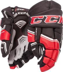 """CCM Quicklite QLT Gloves Senior - Black/Red - Size: 13"""""""